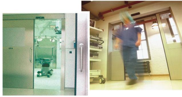 Αυτόματες πόρτες χειρουργείου