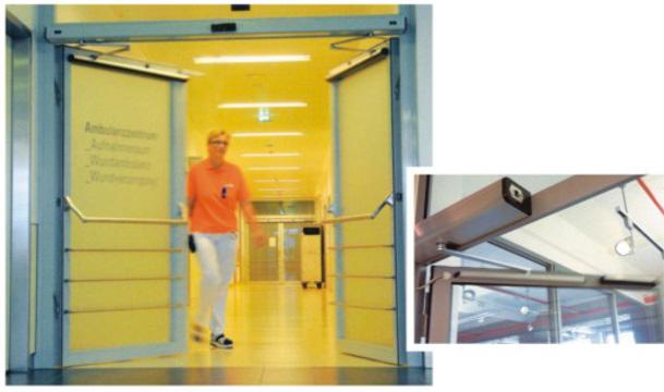 Αυτόματες πόρτες αναδιπλούμενες